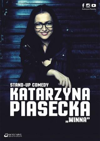 """Katarzyna Piasecka """"Winna"""" - nowy program stand-up comedy"""