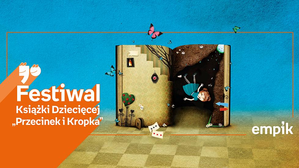 Festiwal Książki Dziecięcej Przecinek i Kropka w Szczecinie