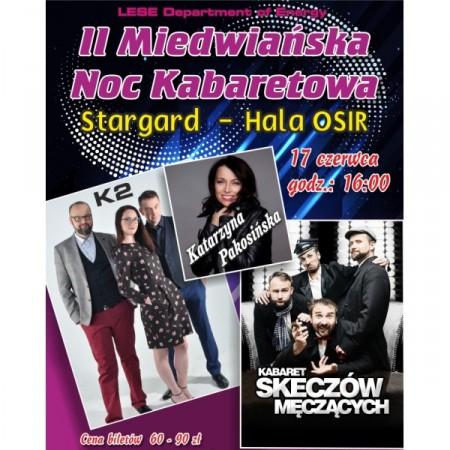 II Miedwiańska Noc Kabaretowa