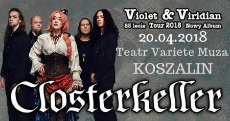 Closterkeller: Violet & Viridian Tour 2018