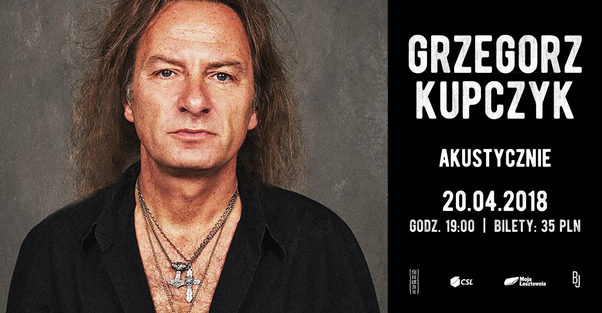 Grzegorz Kupczyk - akustycznie