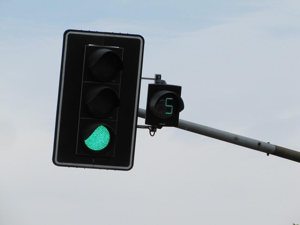 liczniki czasu zielonego światła