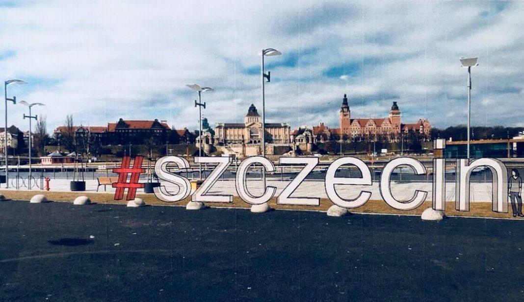 napis #szczecin