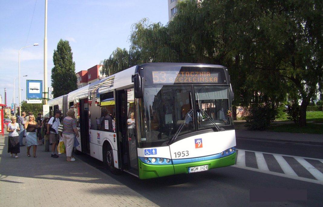 komunikacja miejska Szczecin Majówka