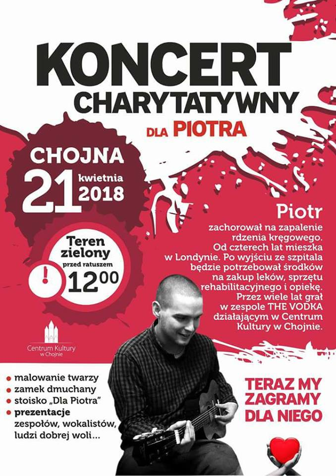 Koncert charytatywny dla Piotra