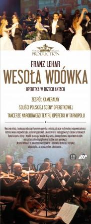 Wesoła Wdówka - operetka F. Lehara