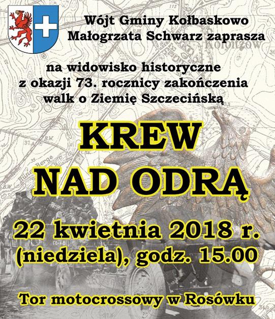 """Widowisko historyczne """"Krew nad Odrą"""""""
