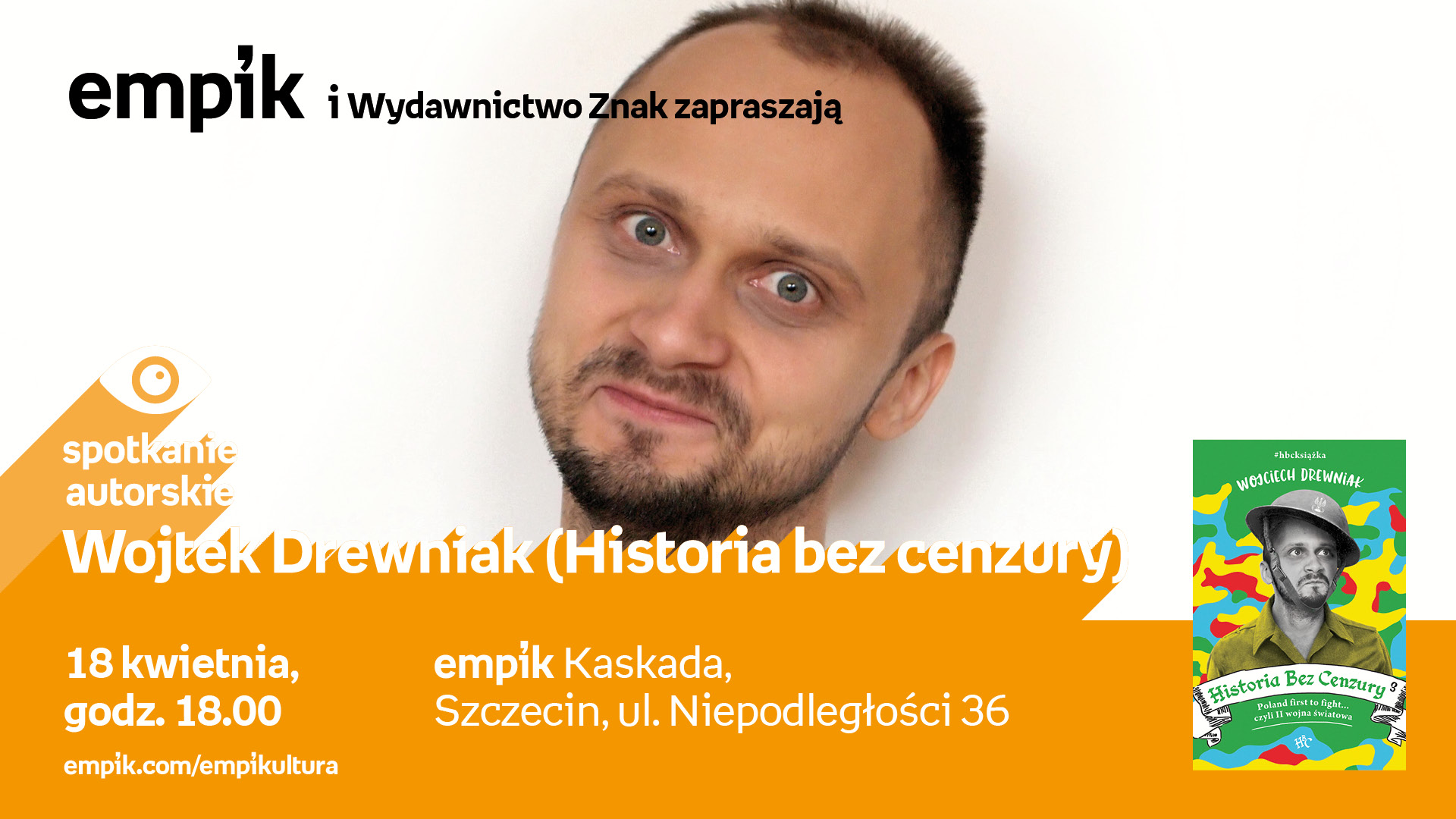 Spotkanie z yotuberem Wojciechem Drewniakiem