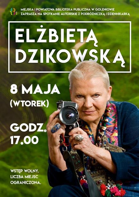 Spotkanie z Elżbietą Dzikowską