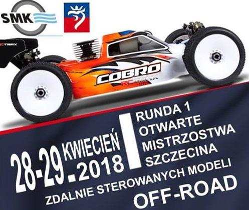 Otwarte Mistrzostwa Szczecina zdalnie sterowanych modeli OFFRoad