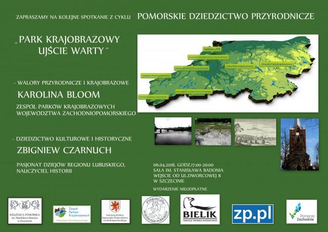 """Spotkanie: Park Krajobrazowy """"Ujście Warty"""""""