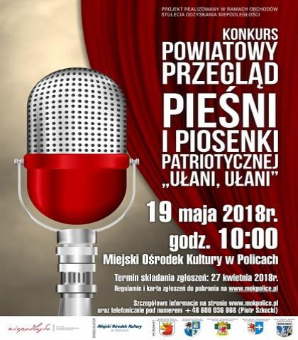 """Powiatowy Przegląd Pieśni i Piosenki Patriotycznej """"Ułani, ułani"""""""