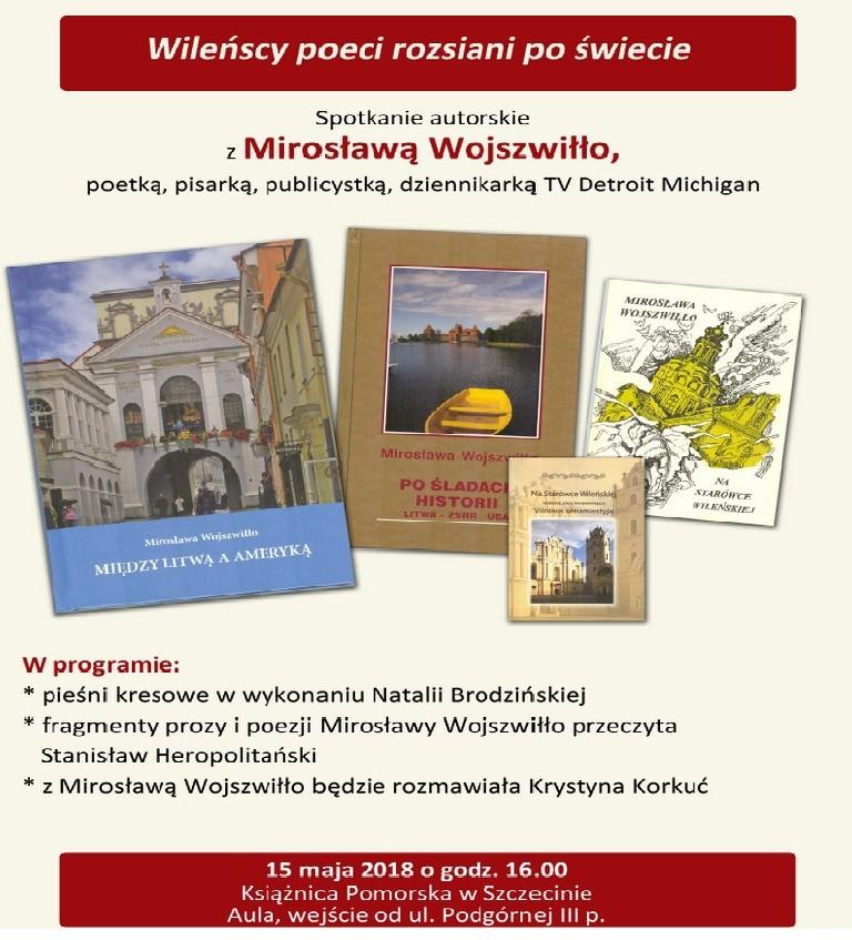 Spotkanie autorskie z Mirosławą Wojszwiłło