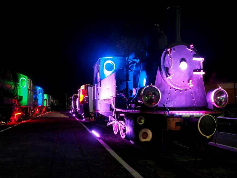 Nocny Pociąg do Muzeum - 13. Europejska Noc Muzeów w Gryficach