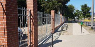 remont ogrodzenia na Cmentarzu Centralnym