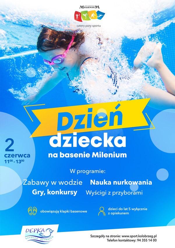 Dzień Dziecka na basenie Milenium w Kołobrzegu