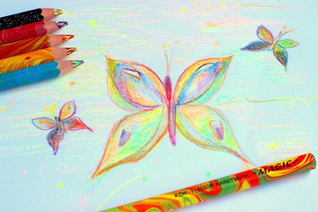 Dzień dziecka - magiczne kolorowanie