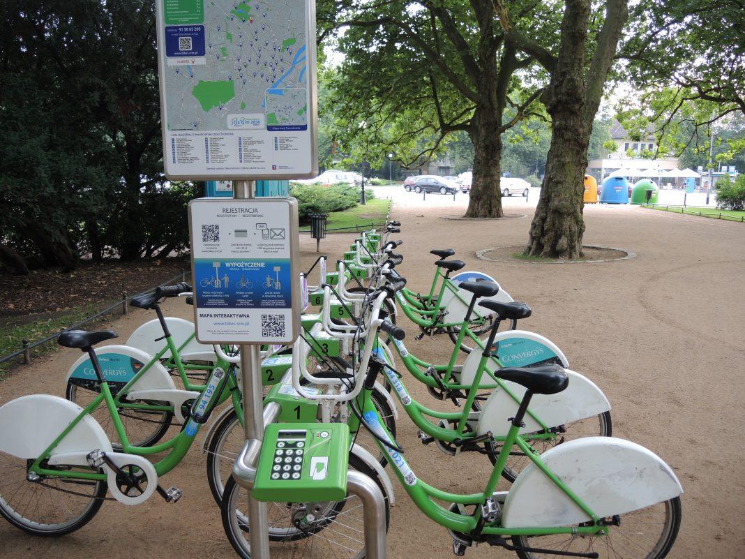 rower miejski Szczecin