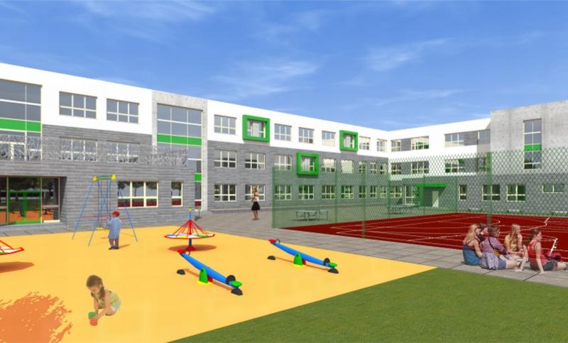 szkoła przy ul.Kredowej