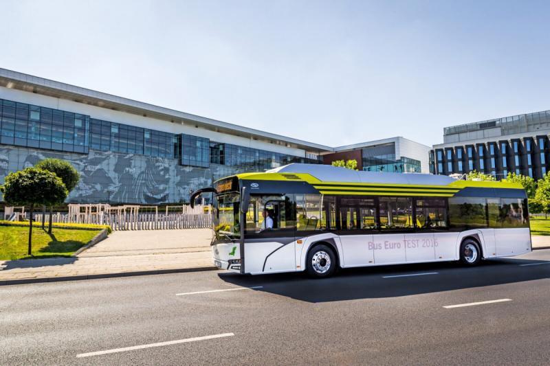 elektryczne autobusy wSzczecinie