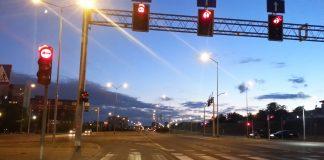skrzyżowanie ulic Łukasińskiego i Taczaka