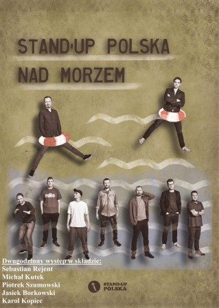 Stand Up Polska nad morzem