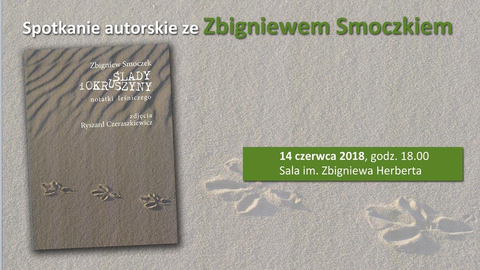 Spotkanie autorskie ze Zbigniewem Smoczkiem