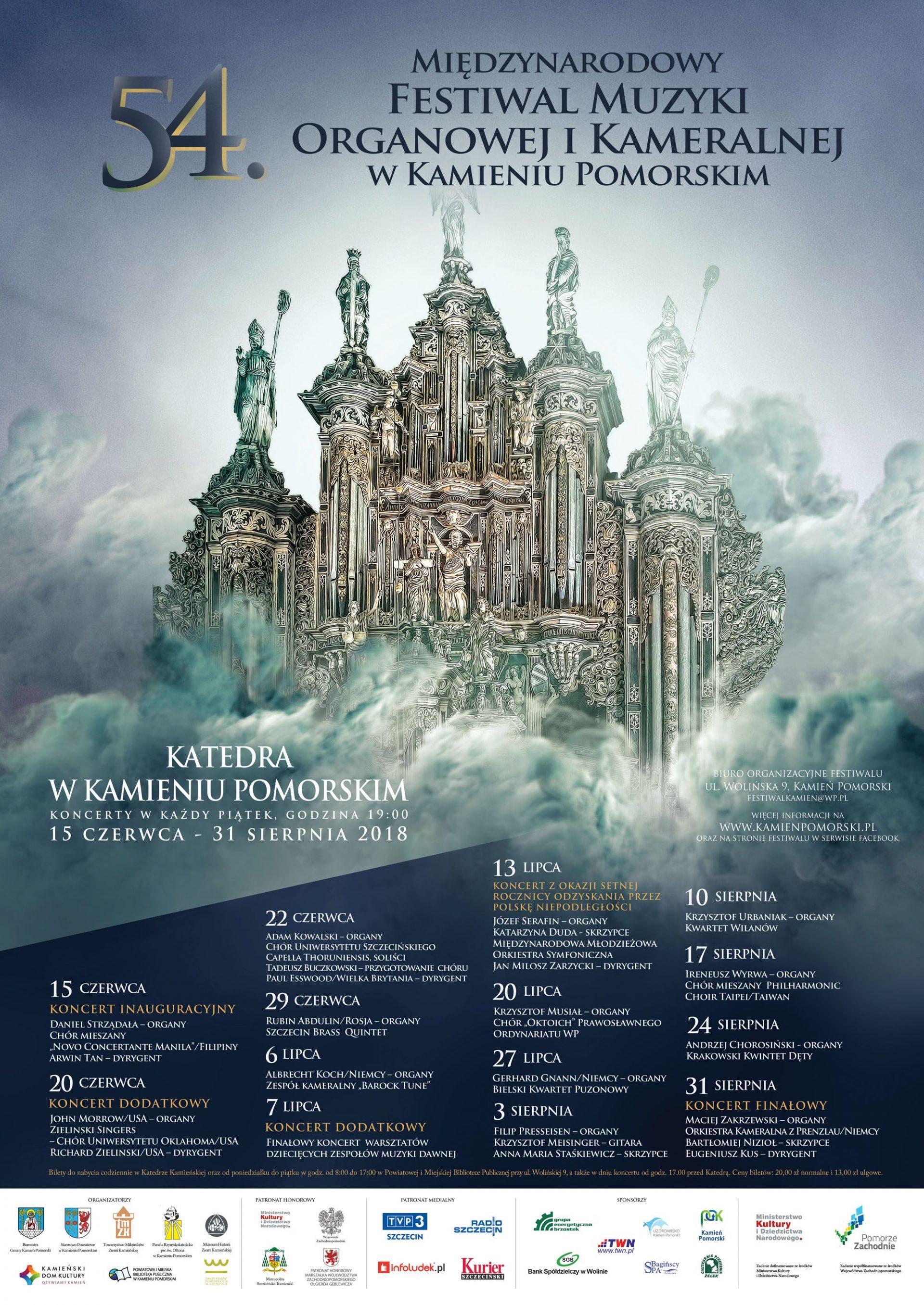 Festiwal Muzyki Organowej iKameralnej