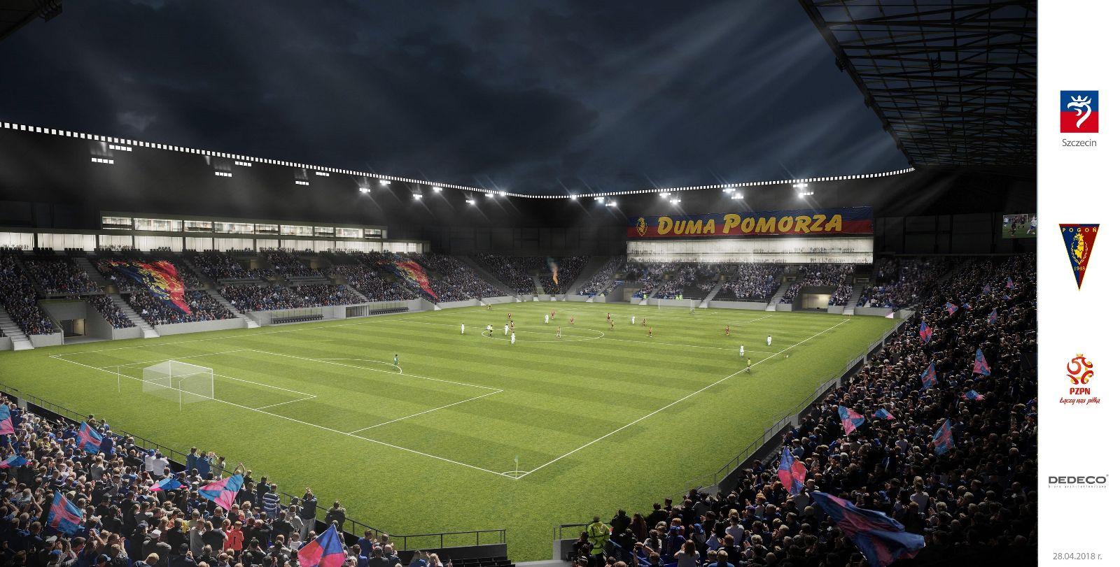 Stadion Miejski wSzczecinie