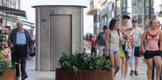 toalety miejskie
