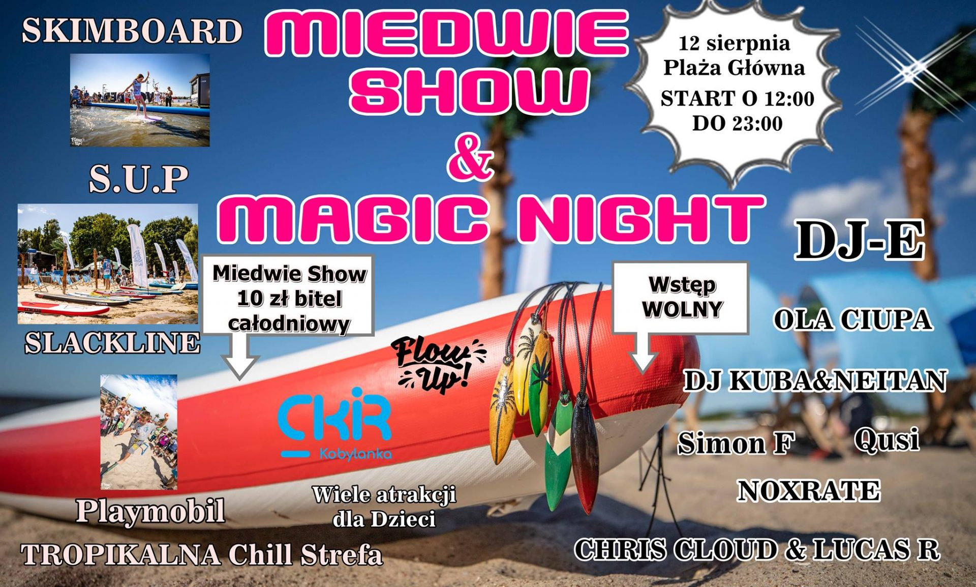 Miedwie Show & Magic Night