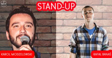 Stand-up: Karol Modzelewski & Rafał Banaś