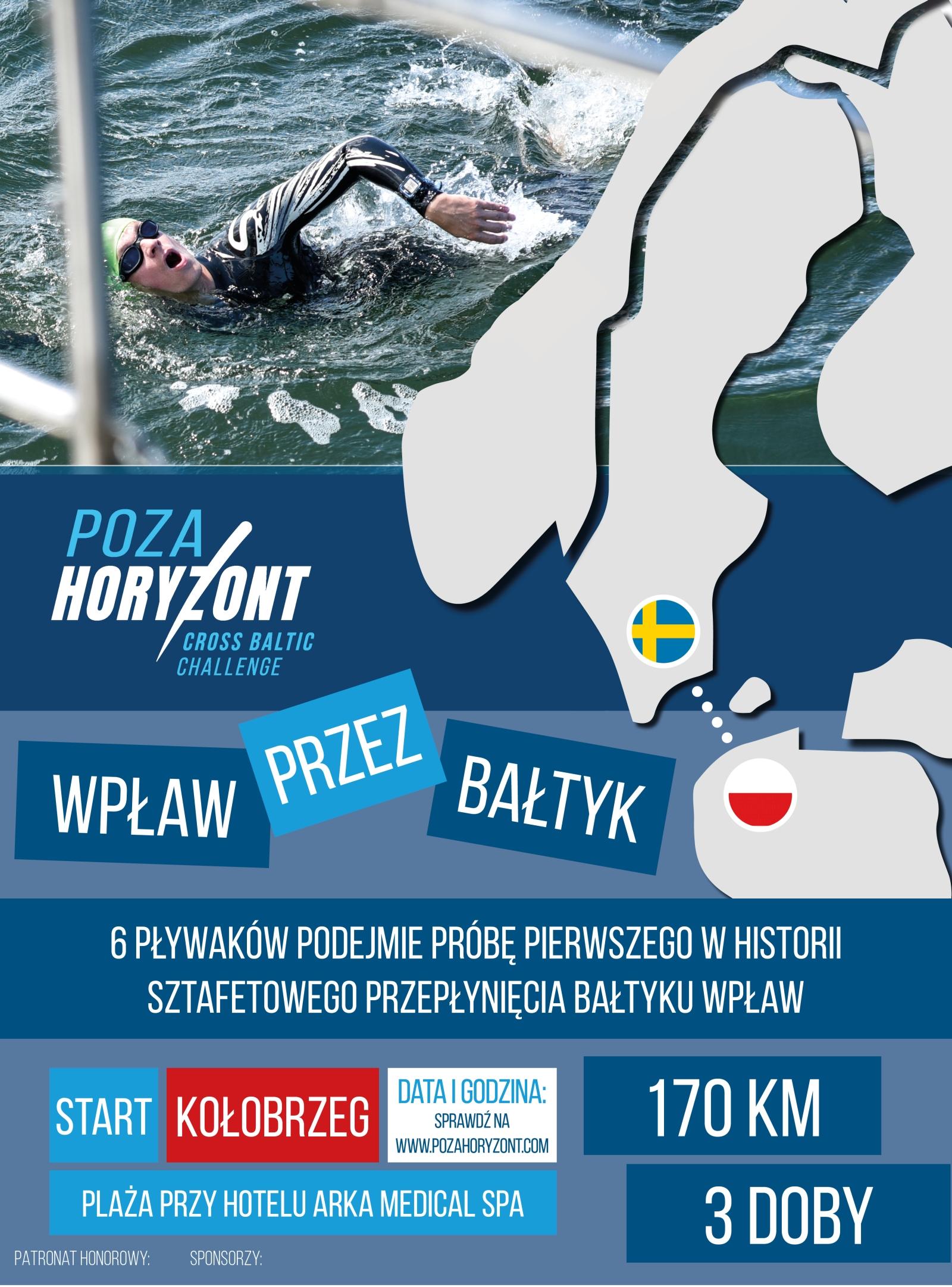 polska sztafeta Bałtyk wpław
