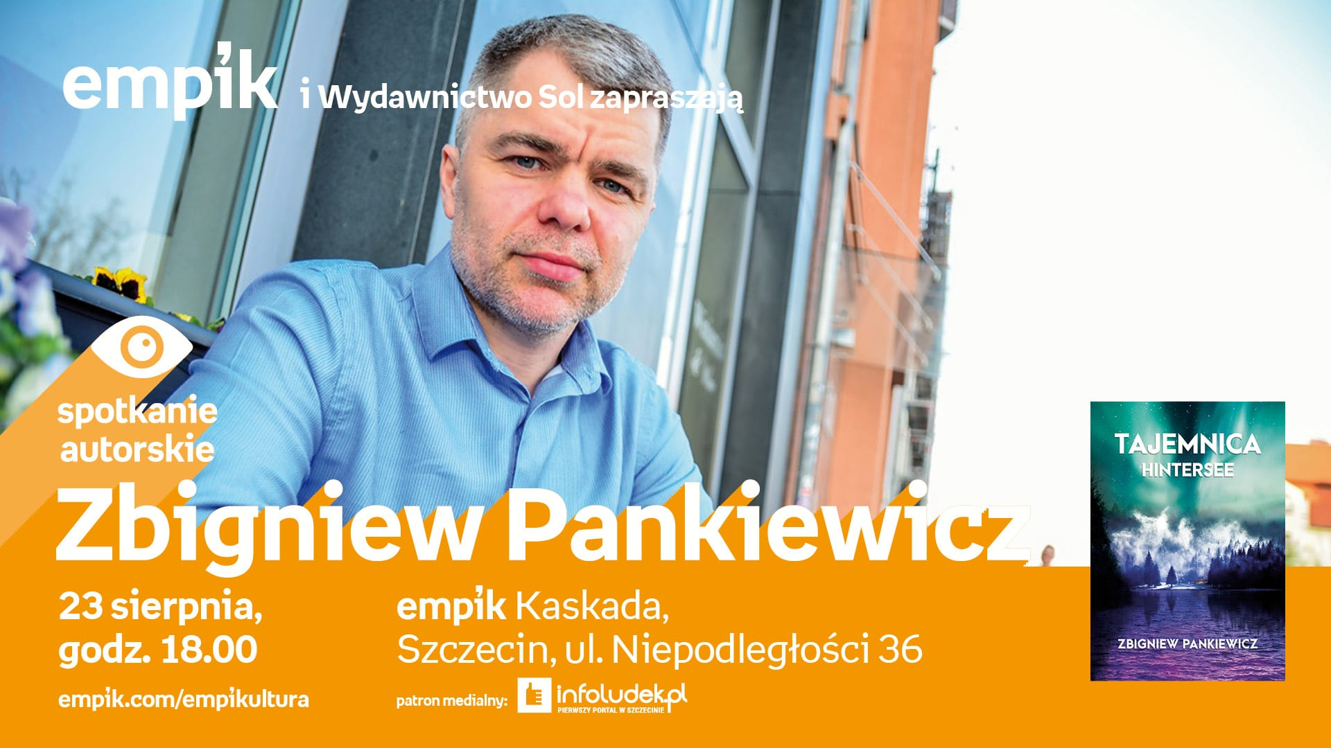 Spotkanie autorskie: Zbigniew Pankiewicz