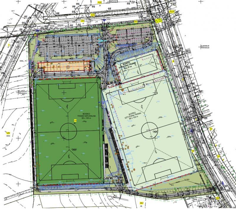 kompleks piłkarski