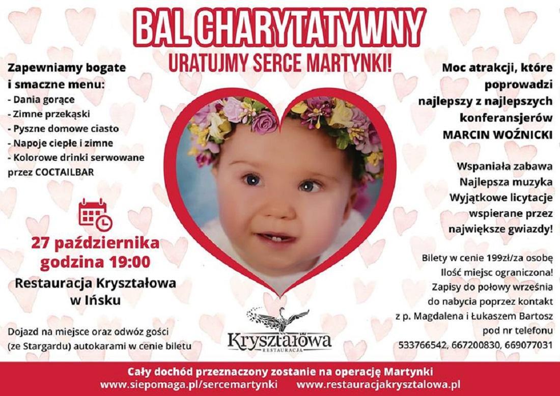 Balu Charytatywnego dla Martynki Dyby
