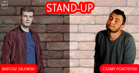 Stand-up: Bartosz Zalewski & Cezary Ponttefski