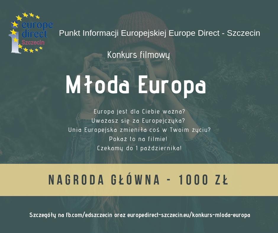 konkurs filmowy Młoda Europa