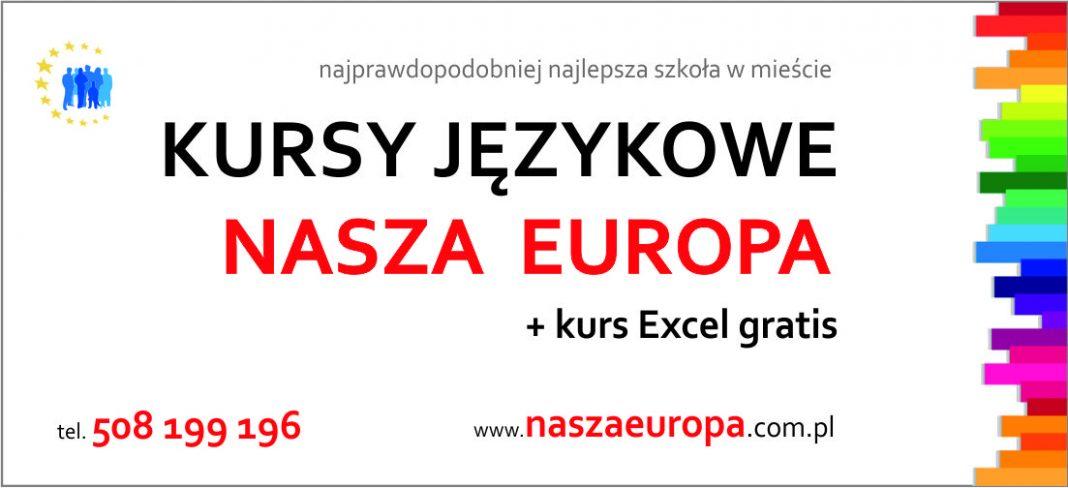 kursy językowe Nasza Europa