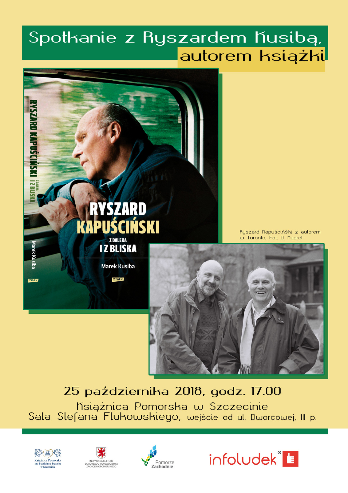 Spotkanie z Ryszardem Kusibą