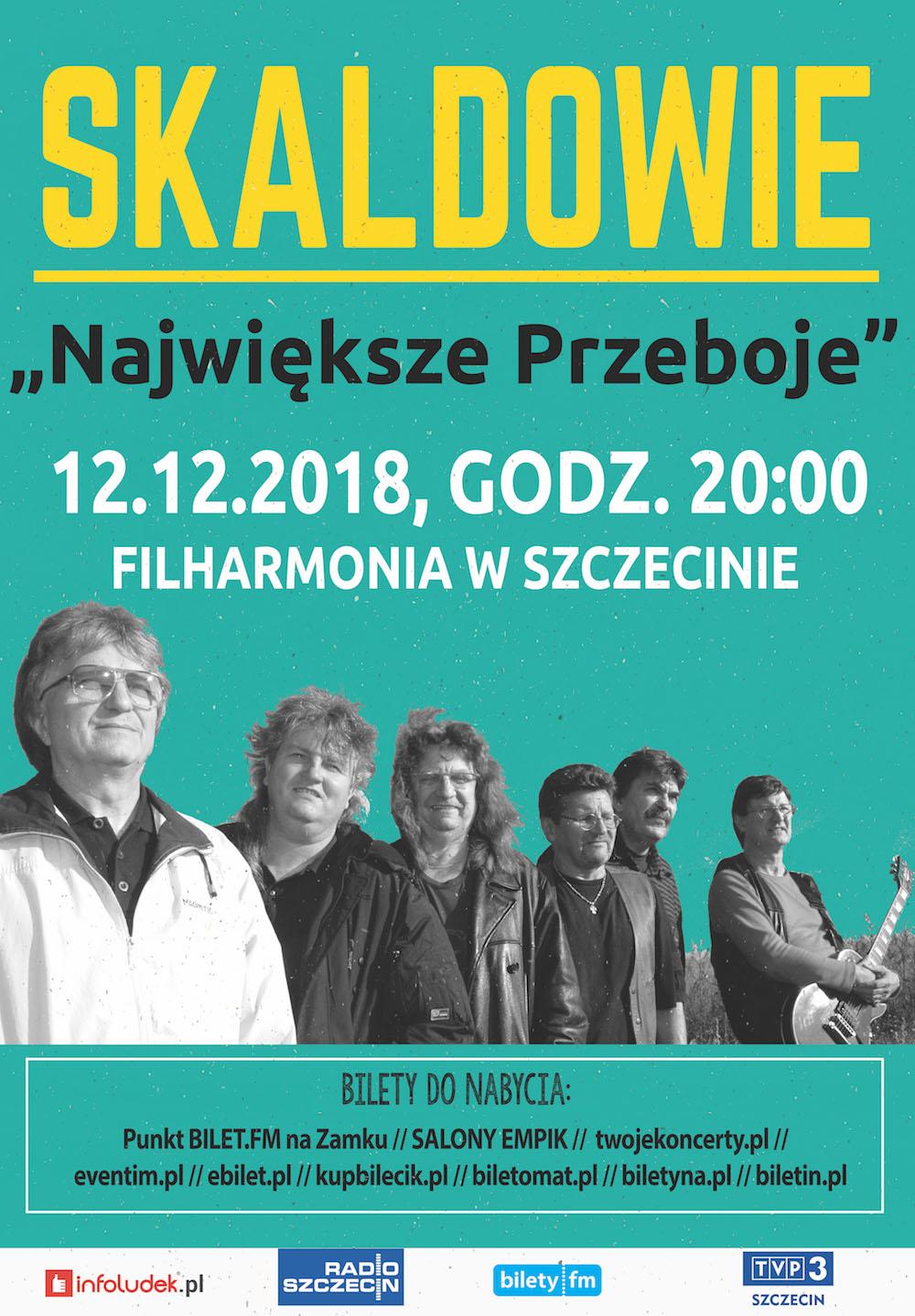 """Koncert zespołu Skaldowie """"Największe Przeboje"""""""