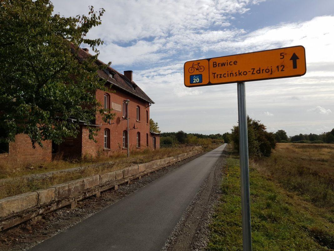 trasa rowerowa Siekierki - Trzcińsko Zdrój