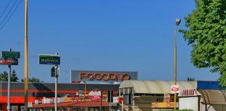 utrudnienia, rynek Pogodno, Szczecin, komunikacja, prace, roboty