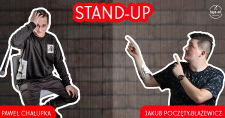 Stand-up: Paweł Chałupka & Jakub Poczęty-Błażewicz