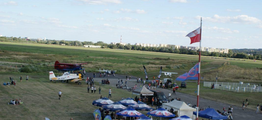 lotnisko w Dąbiu