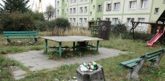 plac zabaw przy ul. Rugiańskiej