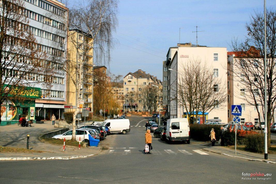 ul. Kadłubka i Niemcewicza Szczecin rondo