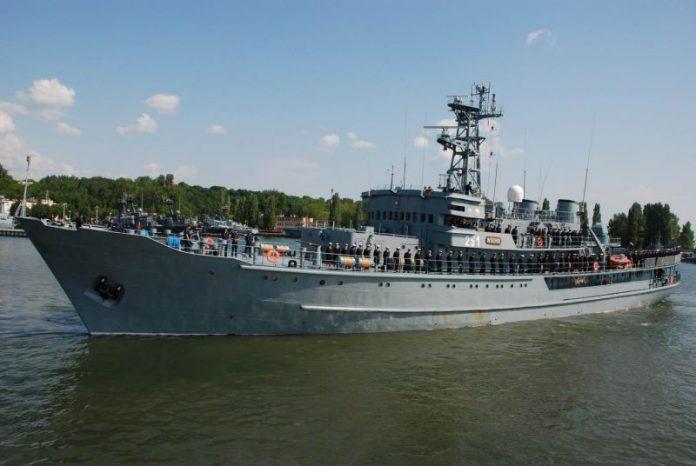 Okręty Marynarki Wojennej RP w Szczecinie