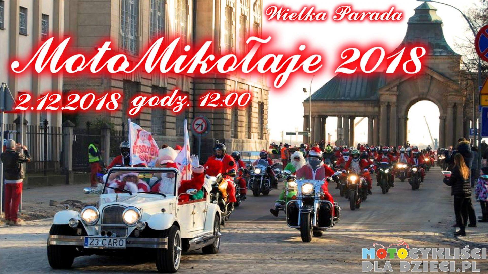 Wielka Parada Moto Mikołajów