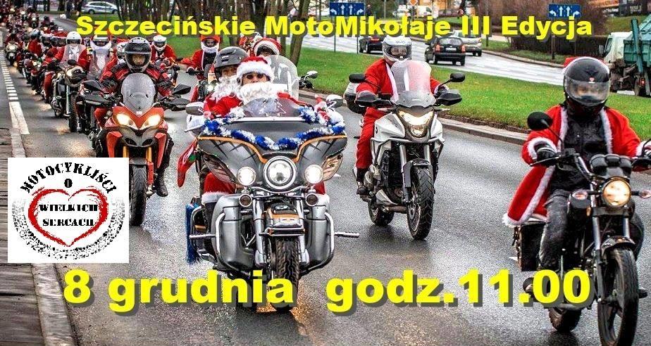 Szczecińskie MotoMikołaje III Edycja